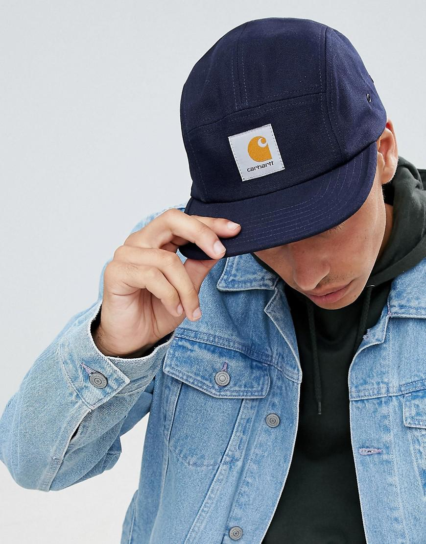 daa4b50a27a Carhartt WIP Backley 5 Panel Cap In Navy in Blue for Men - Lyst
