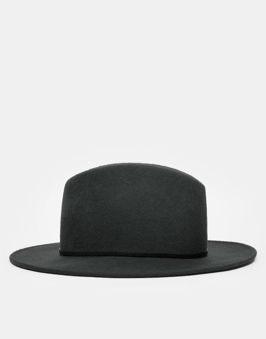 70091dafb64bb Catarzi Wide Brim Fedora Hat in Gray for Men - Lyst