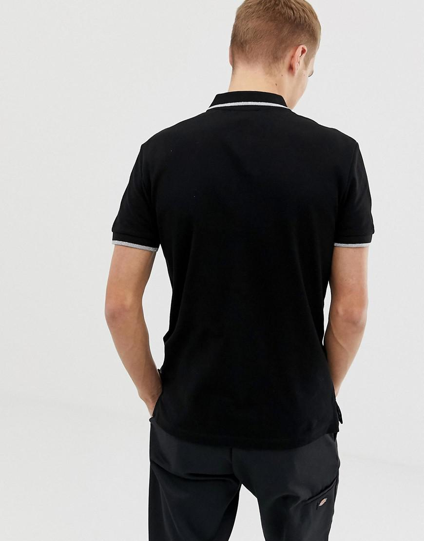 0f52d4ca Lyst - Class Roberto Cavalli Polo Shirt In Black With Repeat Snake Print in  Black for Men