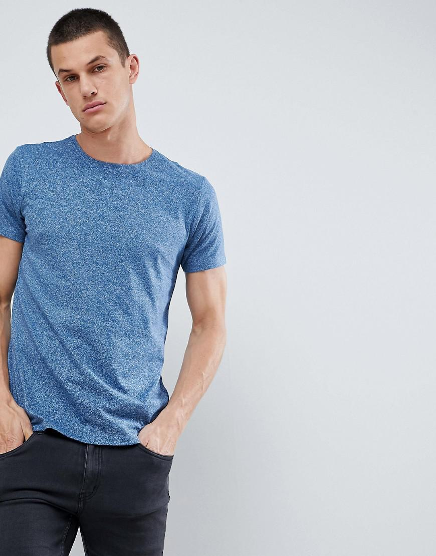 b0078bdc4 Lindbergh Crew Neck T-shirt In Blue Mix in Green for Men - Lyst