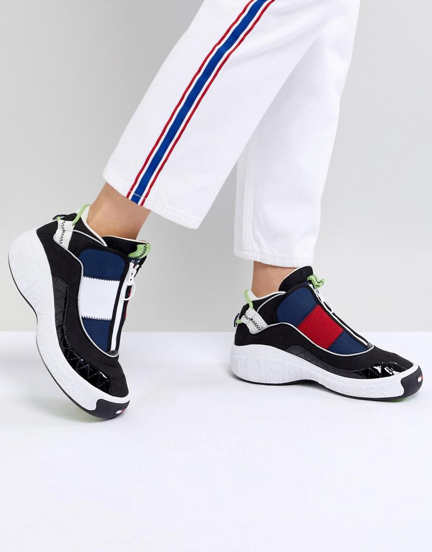 a51d548bb Tommy Hilfiger Tommy Jeans 90s Capsule 5.0 Iconic Sneakers in Blue ...