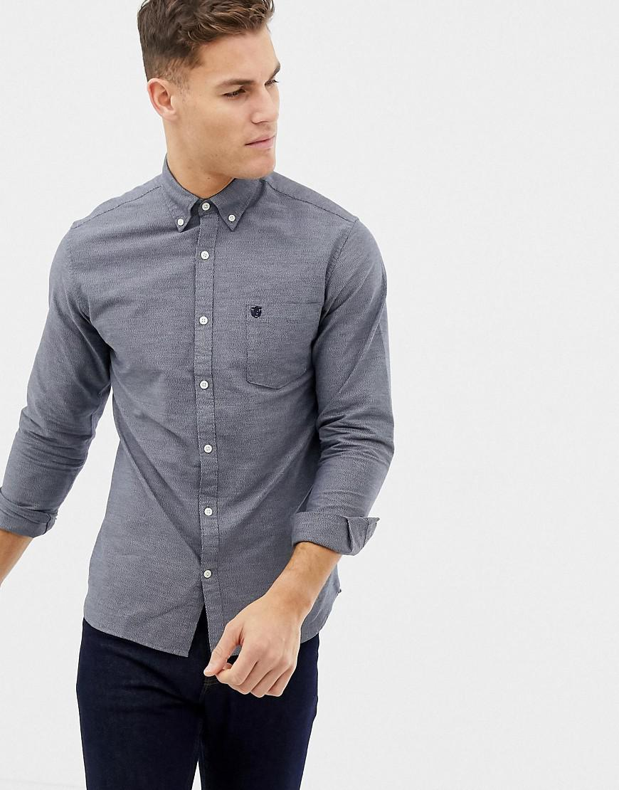 77575ad75 Lyst - Selected Classic Oxford Shirt in Blue for Men