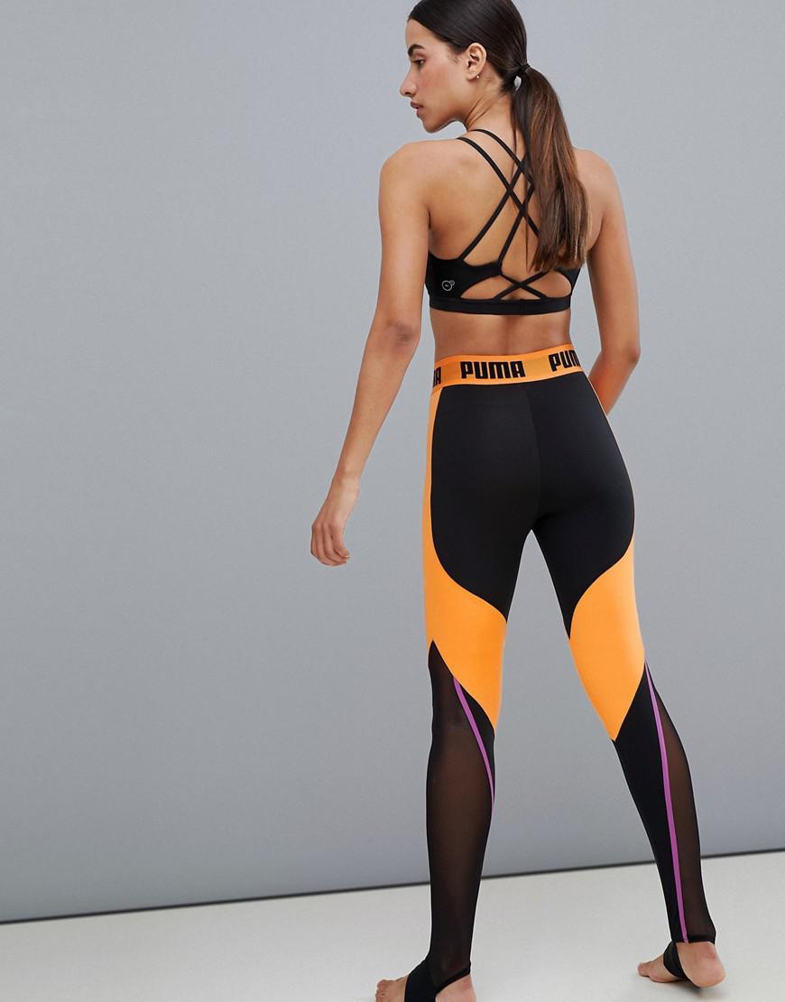 d646abb88342cf PUMA Active High Waist Leggings in Black - Lyst