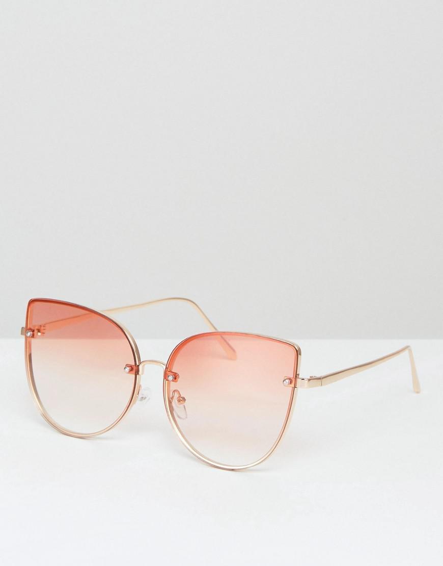 603f316c85b4d ALDO Gazzada Tinted Lens Sunglasses in Metallic - Lyst