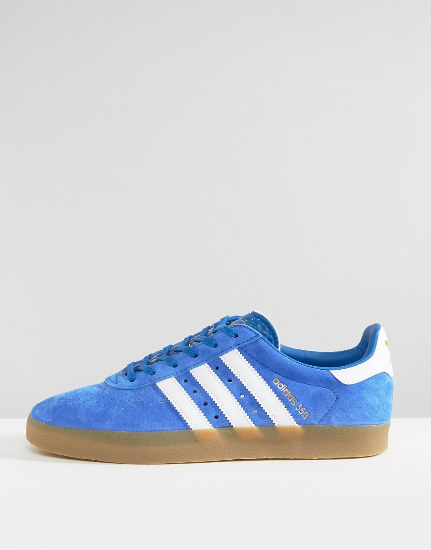 97873dc04f95 Lyst - adidas Originals 350 Sneakers In Blue By1862 in Blue for Men
