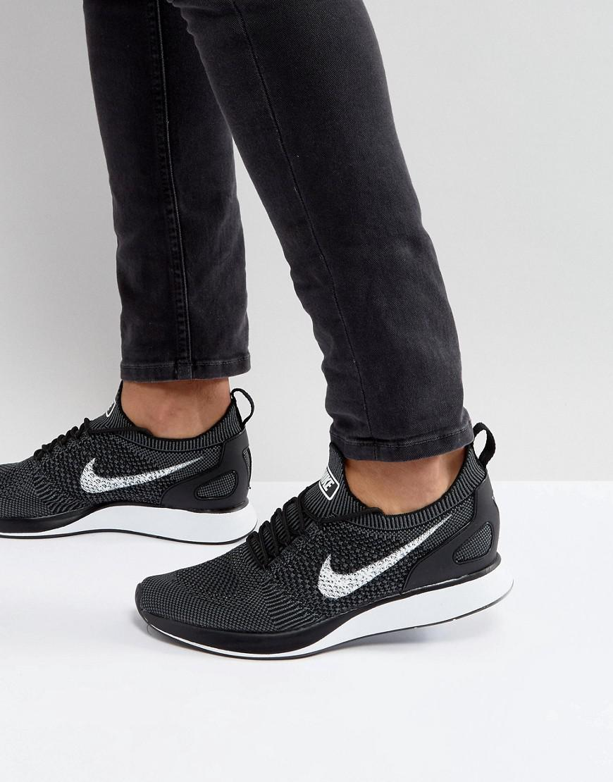 bed23cd02e84 Nike  fast Pack  Air Zoom Mariah Flyknit Racer Sneakers In Black ...