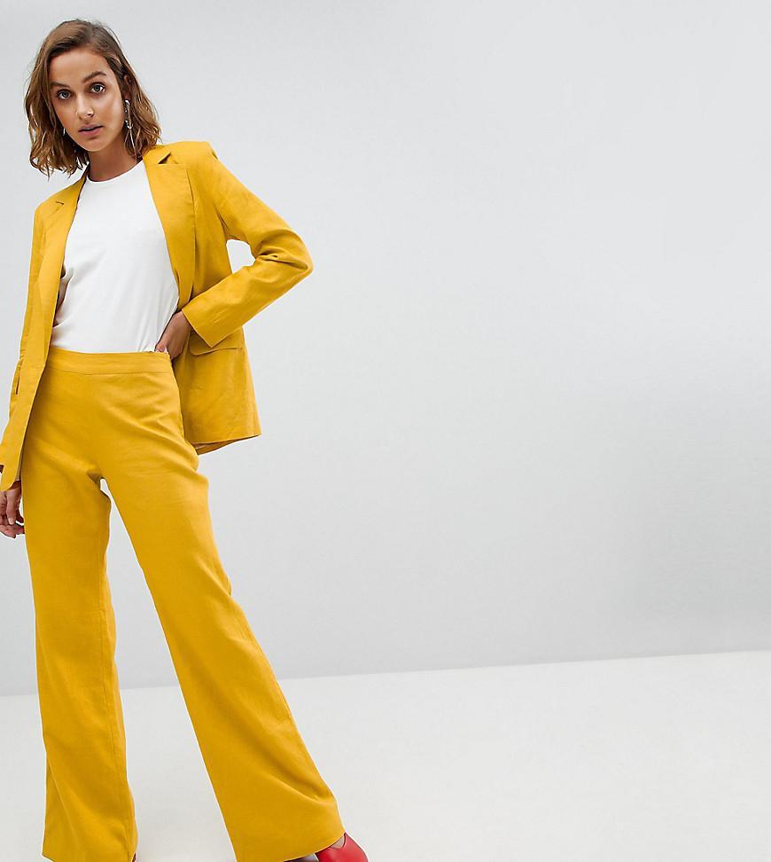 Unique 21 Unique 21 linen flared trousers co-ord Manchester Choice Wiki Cheap Online Cheap Best Seller Clearance Great Deals k6J6vmAu