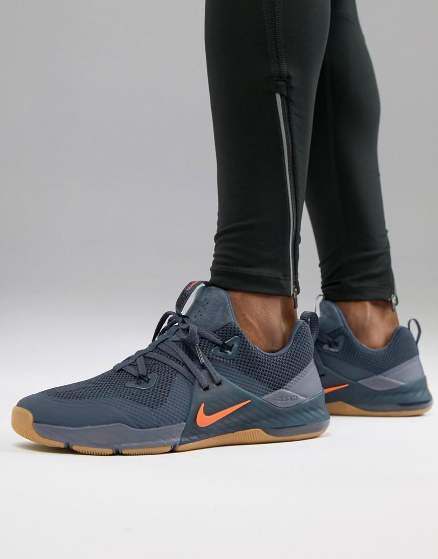 397fe946c02e Nike Zoom Command Training Shoe In Blue 922478-005 in Black for Men ...
