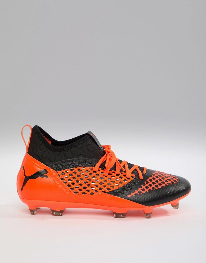 33c32deee840 PUMA Football Future 2.3 Netfit Firm Ground Boots In Orange 104832-02 in  Orange for Men - Lyst