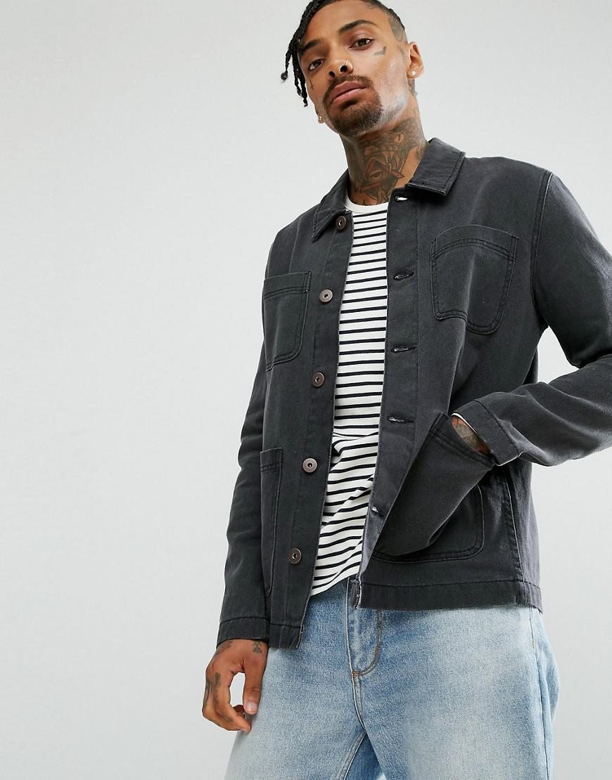Denim Worker In Dark Wash - Dark wash Asos Cheap Fashionable XUkxJa