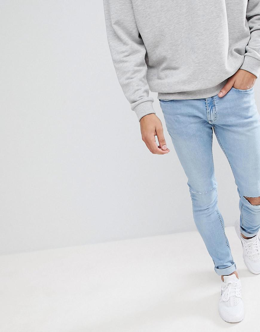 In Blue Skinny For Pull Super Jeans Lyst Light amp;bear Men Z1Iq6