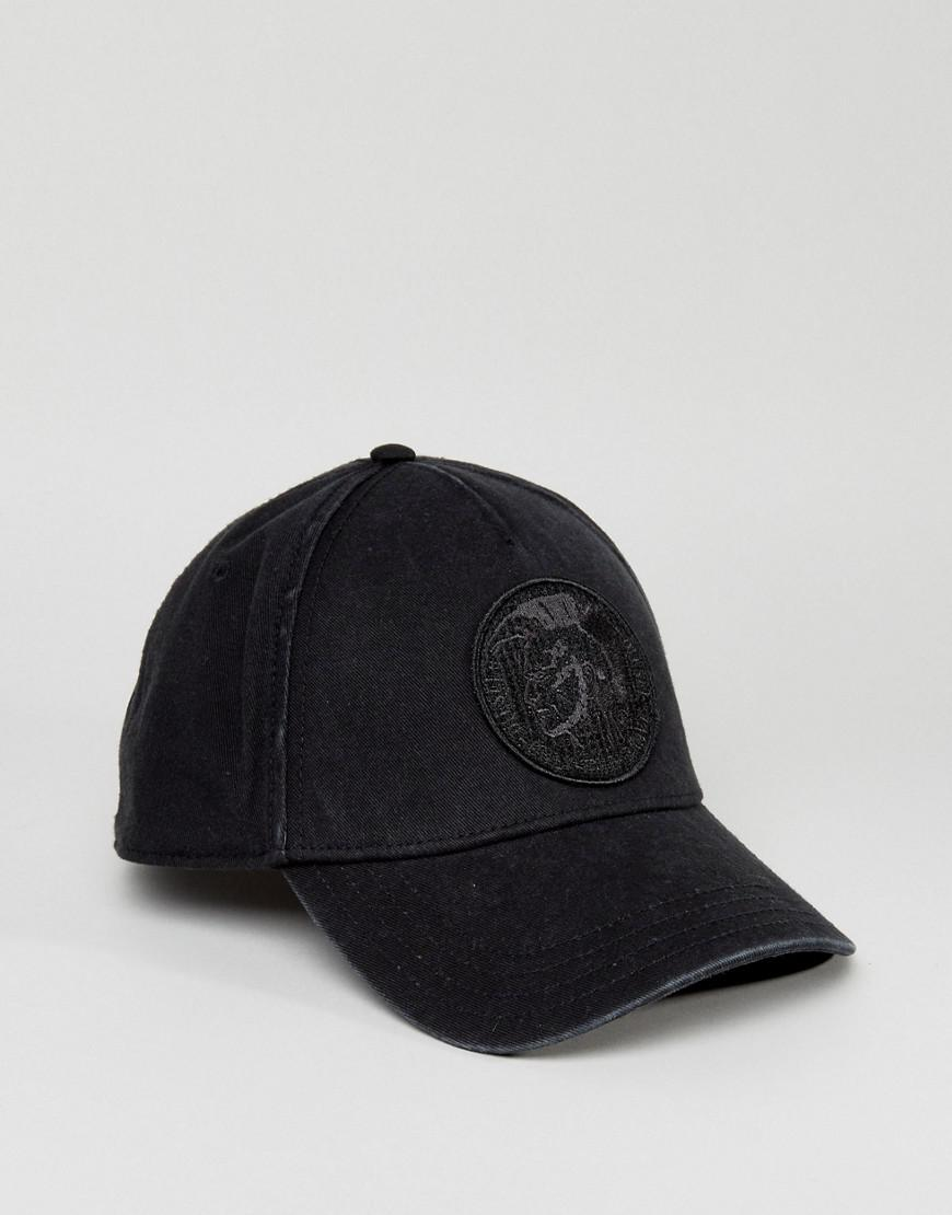 06ffc1cc0bc Lyst - DIESEL Cindi Baseball Cap in Black for Men