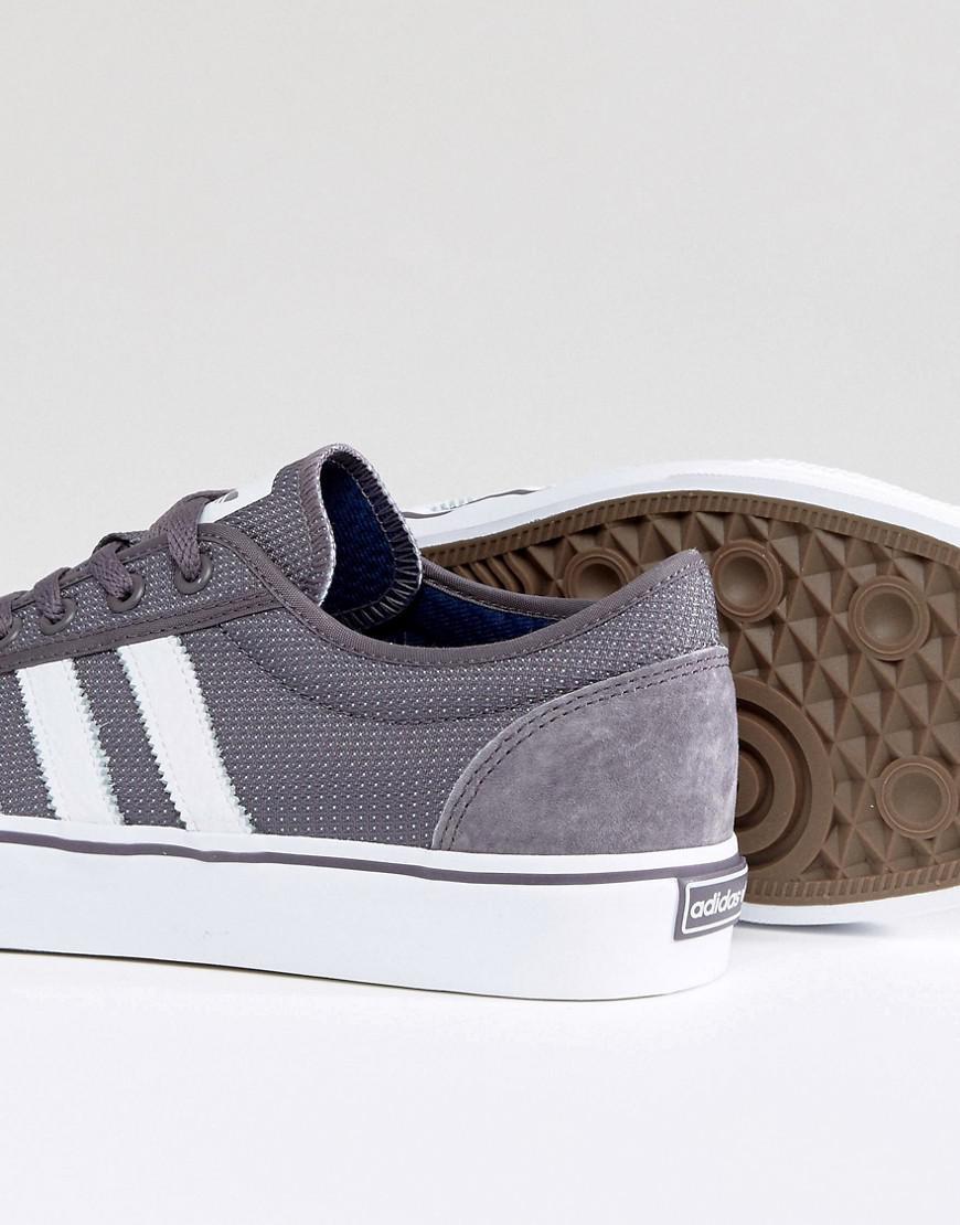 lyst adidas originals adi leichtigkeit sneakers in grau bb8470 in blau für männer