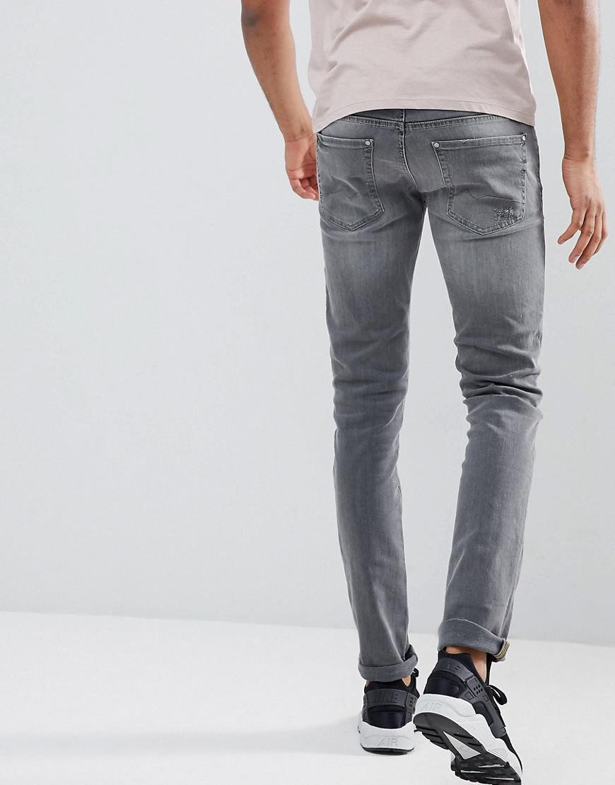 Bleu Dans Pour Denim Blend Tall Jeans Cirrus Skinny Fit Hommes Gris qr8zRq0