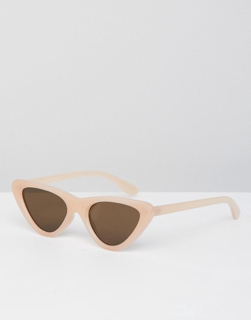 Cat Eye Sunglasses In Pink - Pink Bershka 9NDiy9Kzn