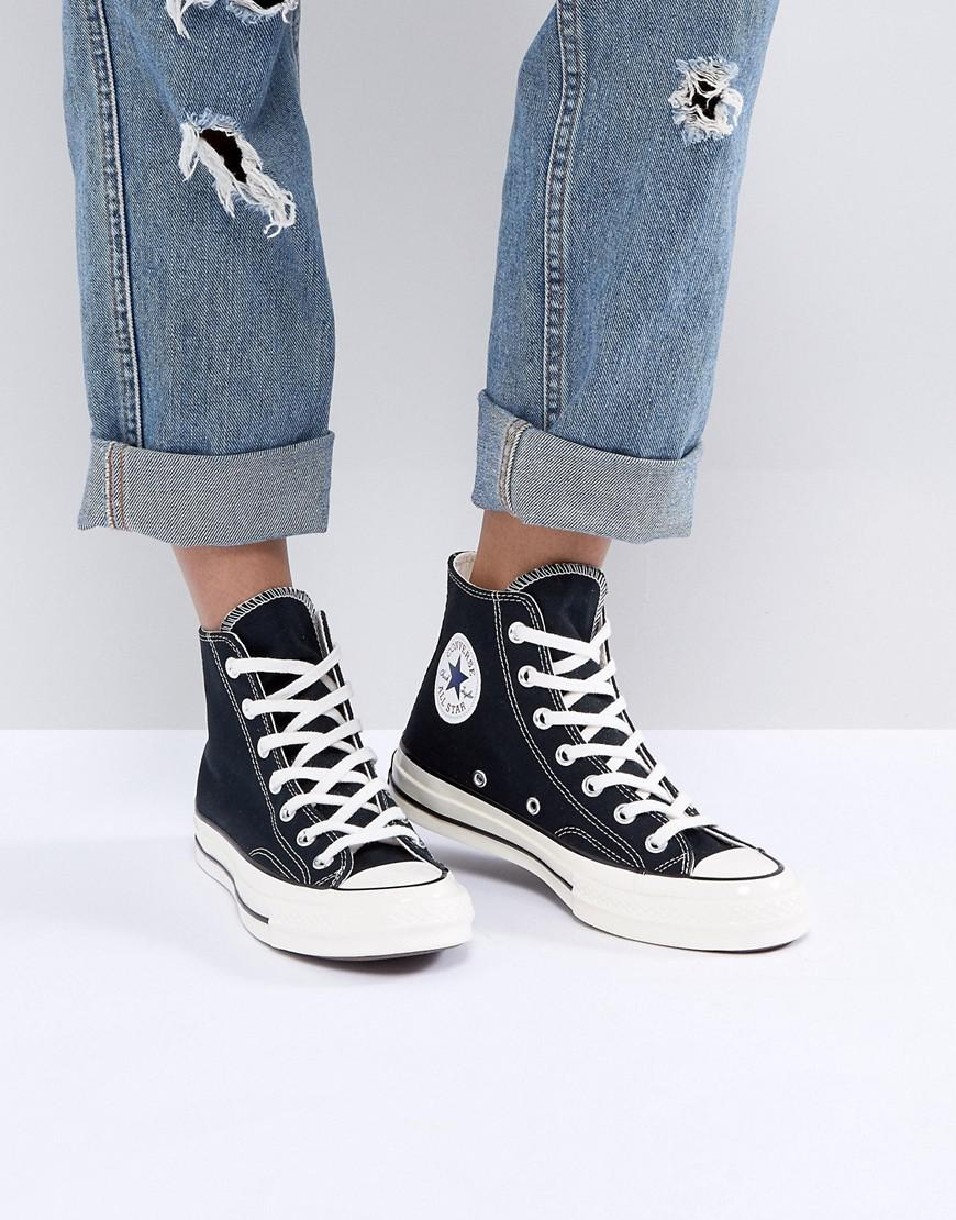 d0fd39d8a816 Converse Chuck Taylor All Star  70 High Top Sneakers In Black in ...