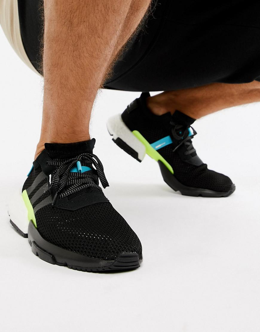 lowest price be49e 993c4 ... detailed images Adidas Originals Pod-s3.1 Trainers In Black Aq1059 in  Black for ...