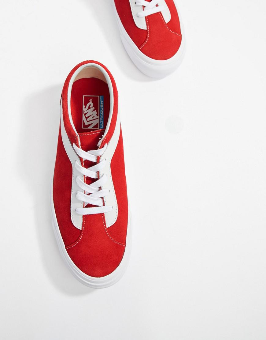 3321b1b5860 Vans Bold Trainers In Red Vn0a3wlpulc1 in Red for Men - Lyst