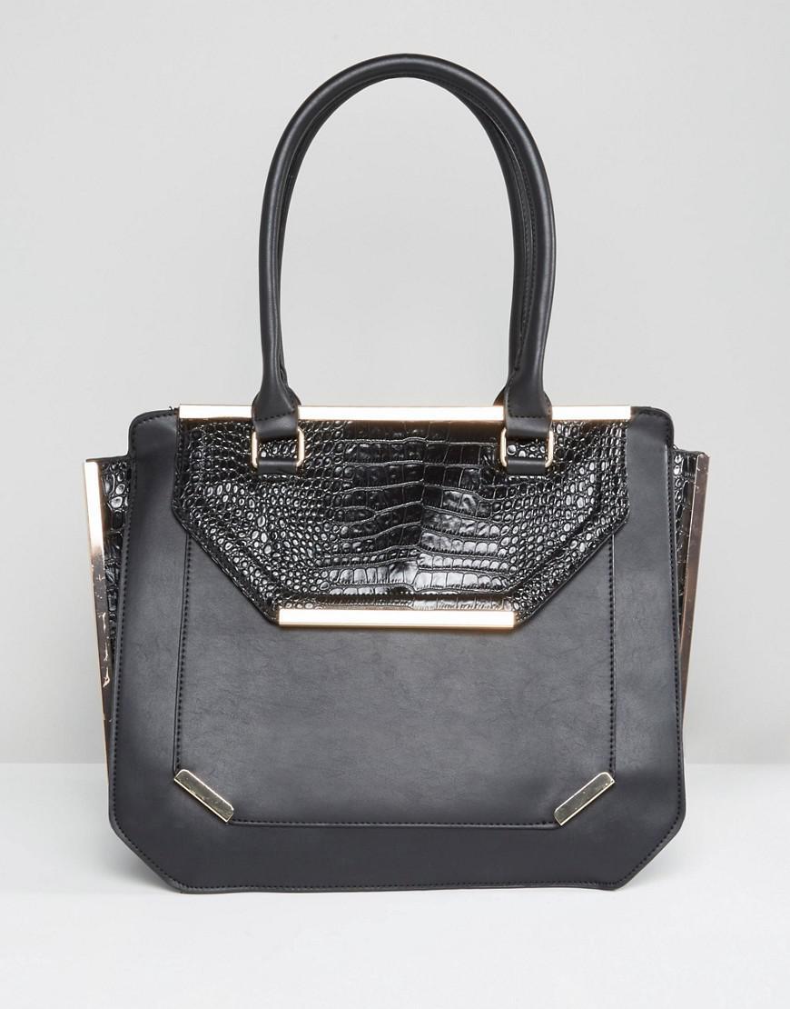 Large Black Tote - Black Yoki Fashion Cheap Sale Browse EacQw8rn3