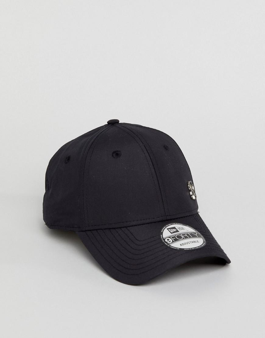 84609e05c7f KTZ 9forty Flawless Adjustable Cap Ny Yankees in Black for Men - Lyst