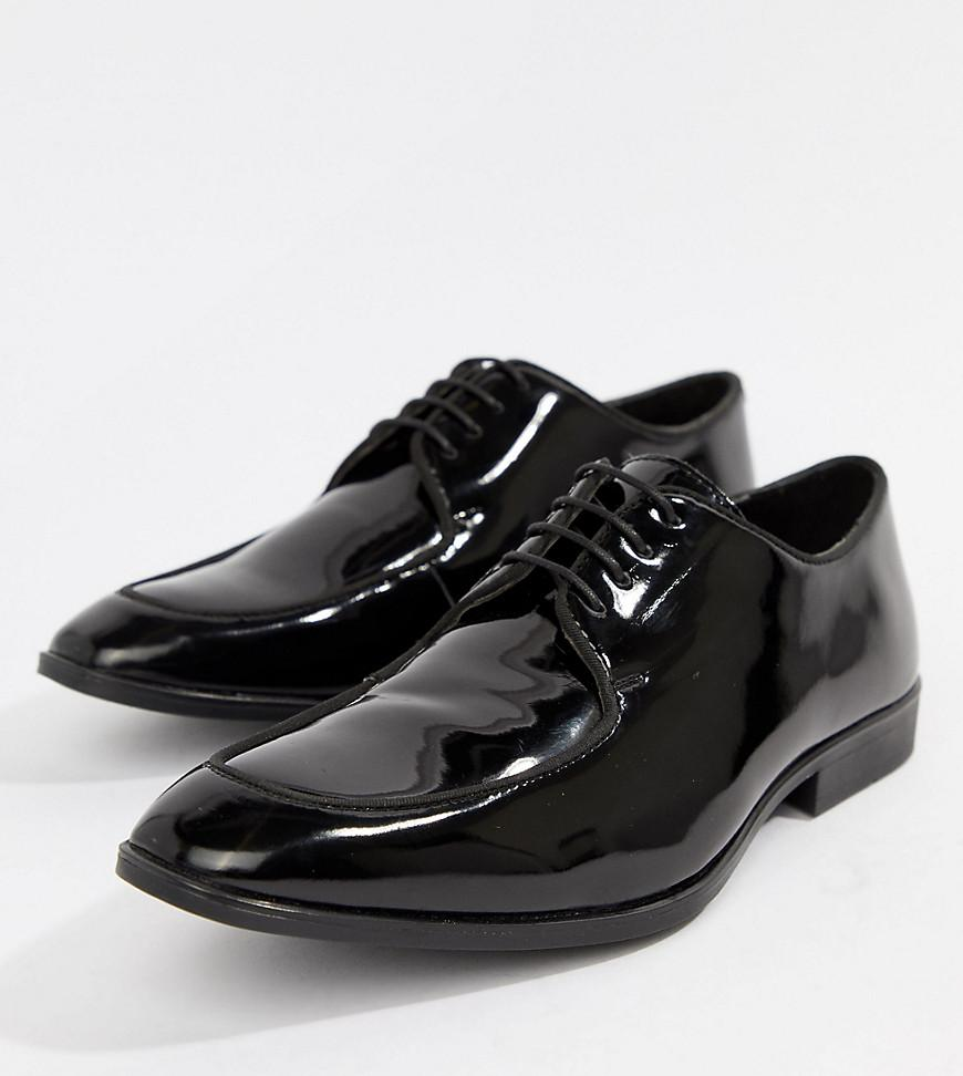 quality for sale free shipping websites online ASOS DESIGN Lace Up Shoes In Black Patent Leather get to buy cheap price lOYC4V9o