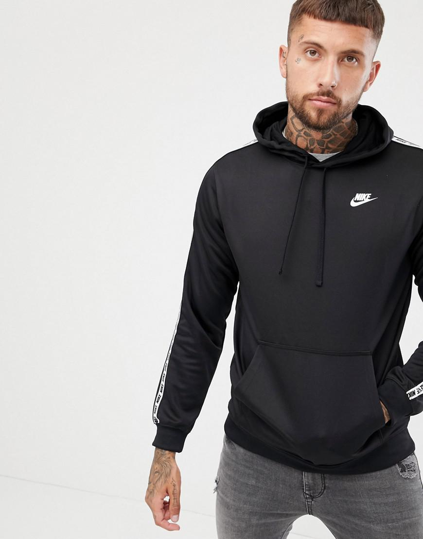 Lyst Ar4914 Black 010 For Pullover Men Hoodie In Taping Nike w7XqzIW