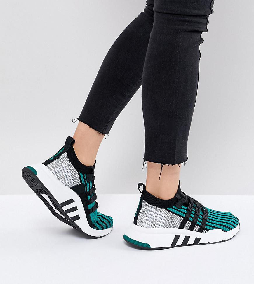 competitive price d438f 34660 ... promo code for lyst adidas originals eqt support mid adv primeknit  trainers in e1602 961a3