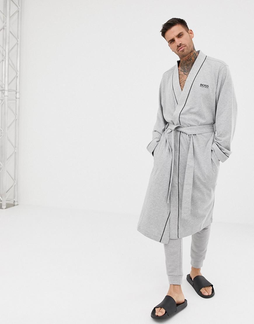 BOSS - Gray Dressing Gown for Men - Lyst. View fullscreen 00b6bbdc9