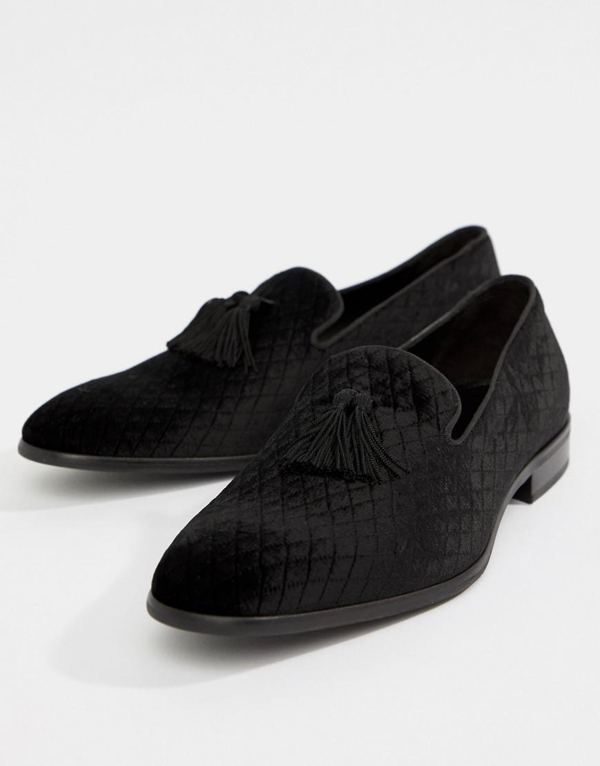 cf870fe3cc3 Lyst - Kurt Geiger Randolph Tassel Loafers in Black for Men