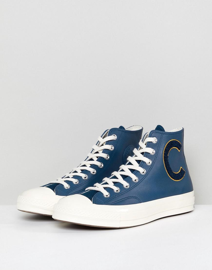 6c9fecd76d31d8 Converse Chuck Taylor All Star 70 Hi Plimsolls In Navy 159678c in Blue for  Men - Lyst