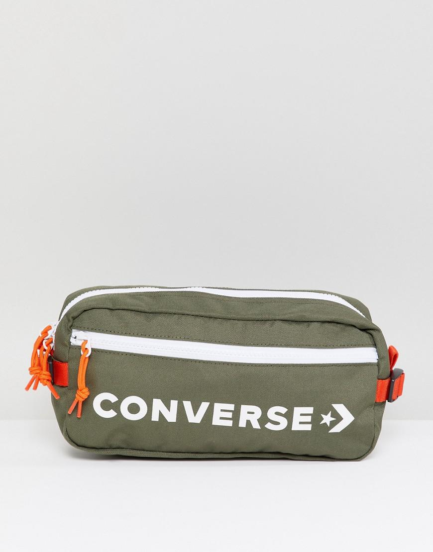 Converse Retro Bumbag In Green in Green for Men - Lyst 24693d2095331