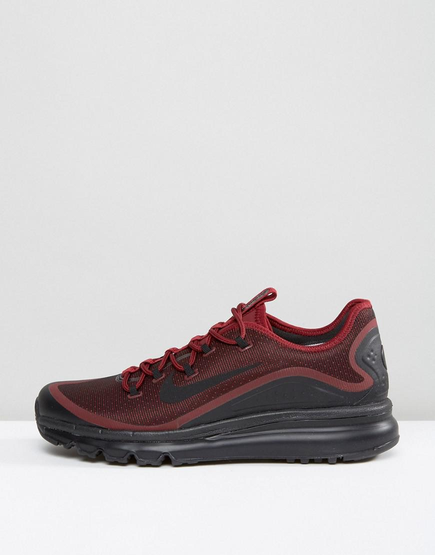 1ba1d06a977eac Nike Air Max More Trainers In Red 898013-600 in Red for Men - Lyst