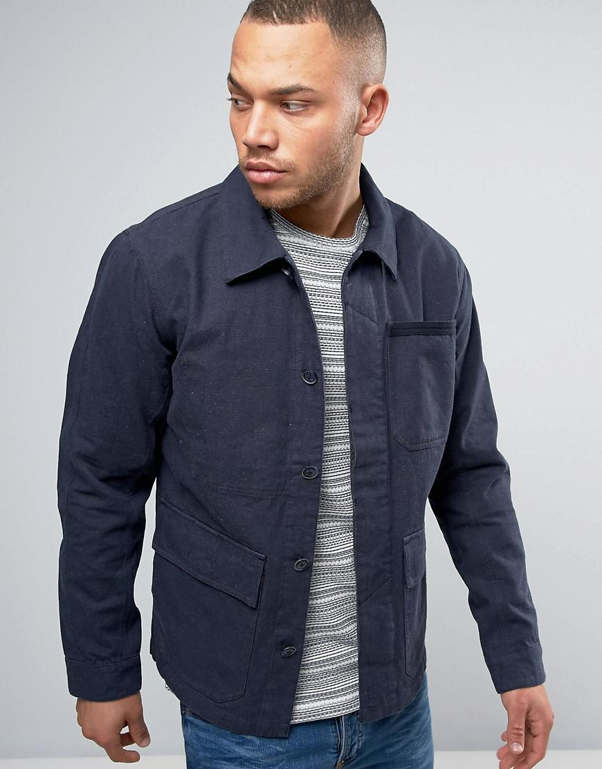 Lyst Jack Jones Jacket In Blue For Men