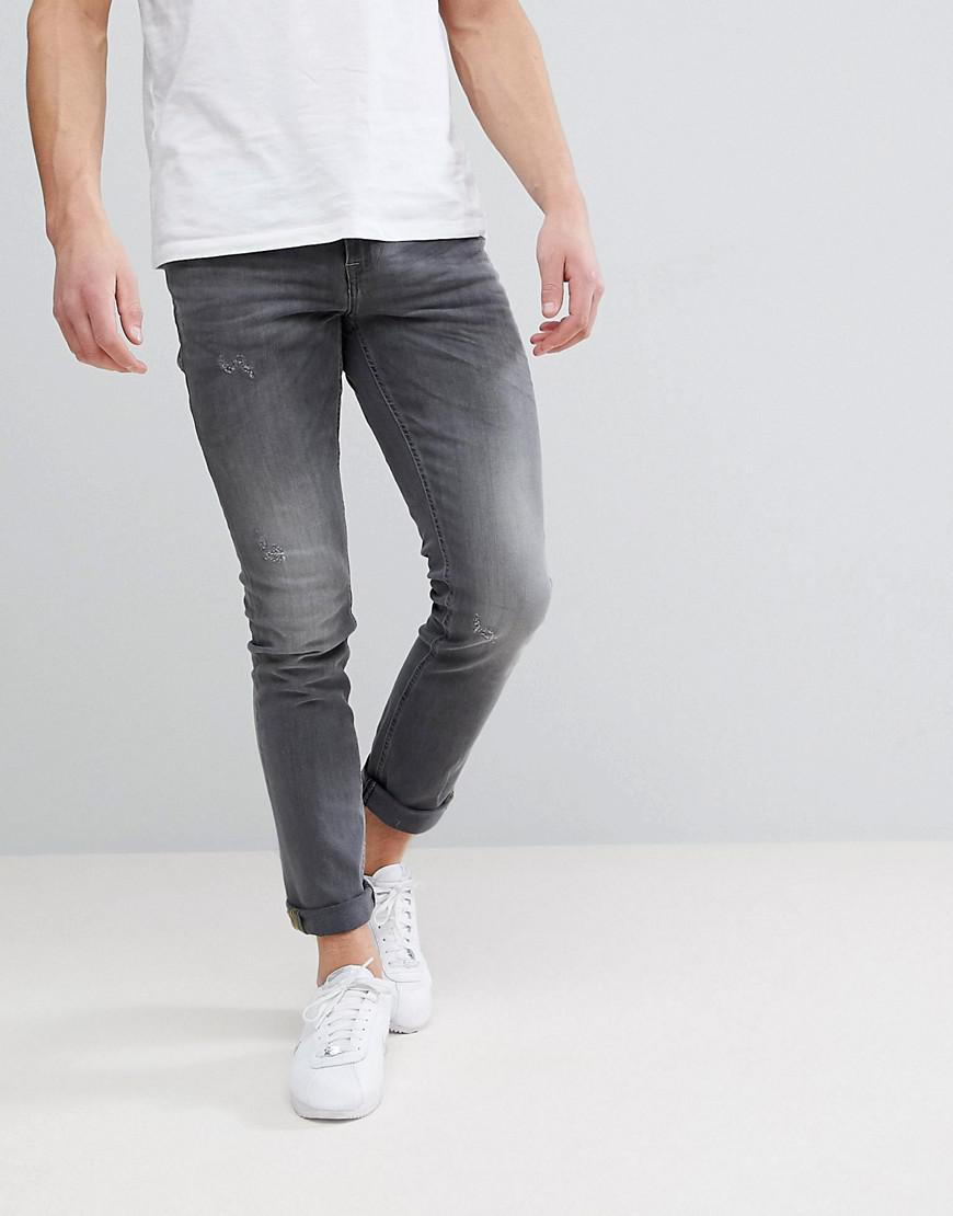 72aad093 Blend - Blue Cirrus Skinny Fit Jeans In Gray for Men - Lyst. View fullscreen
