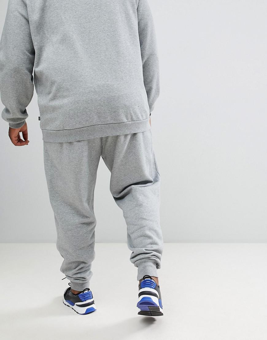 d5717880a9a1c Lyst - PUMA Essential Skinny joggers In Grey 85175303 in Gray for Men