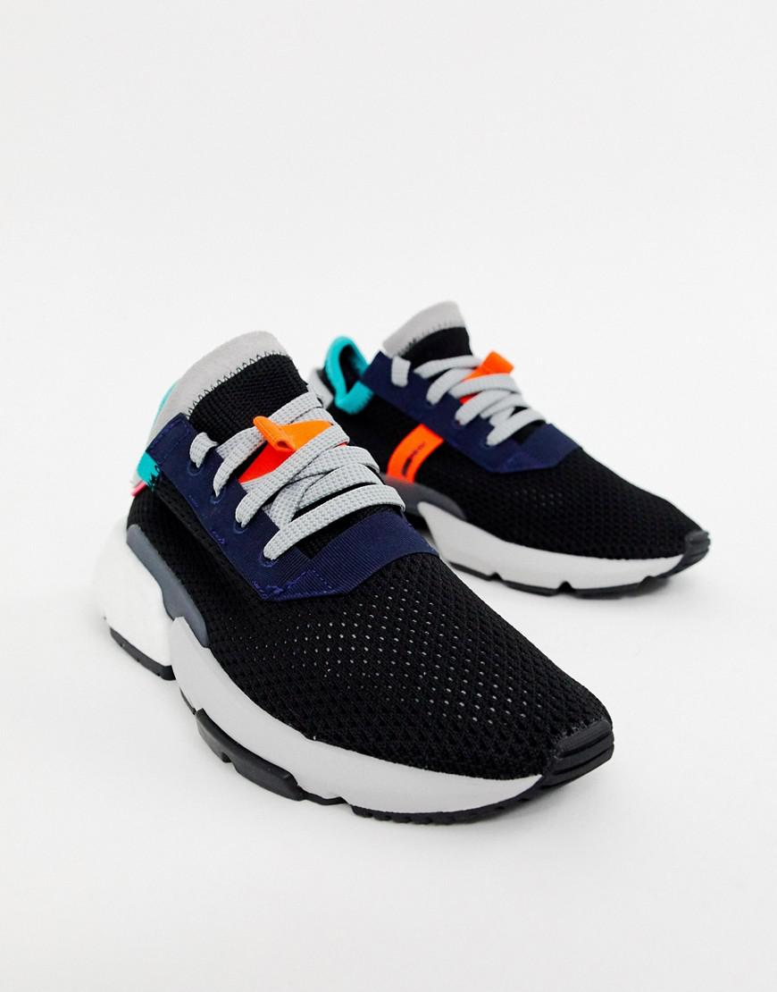 best service 20bcc 4eb83 adidas Originals Pod-s3.1 Sneakers In Black Multi in Black - Lyst