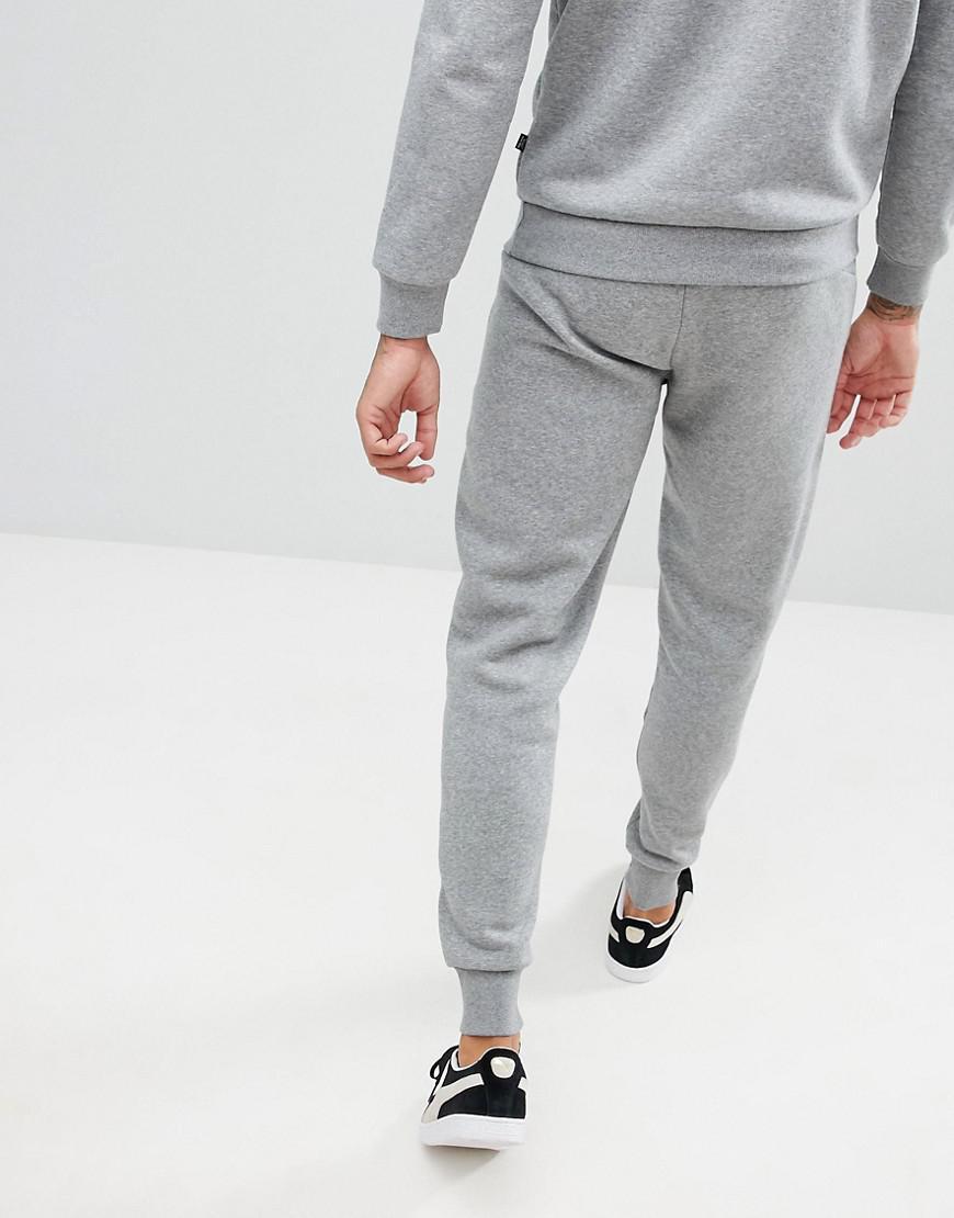 e140504940598 PUMA - Gray Essential Skinny Joggers In Grey 85175303 for Men - Lyst. View  fullscreen