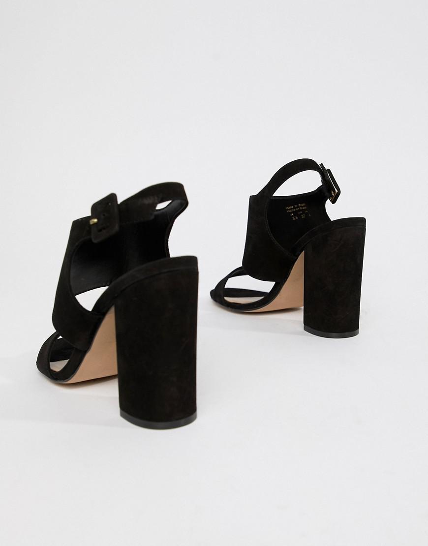 28db9cd56bb ALDO Elise Heeled Sandal in Black - Lyst
