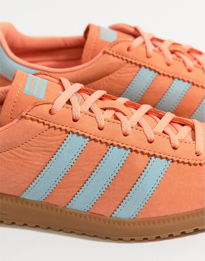 online retailer 3552a 1a55d Lyst - adidas Originals Bermuda Trainers In Orange Cq2784 in