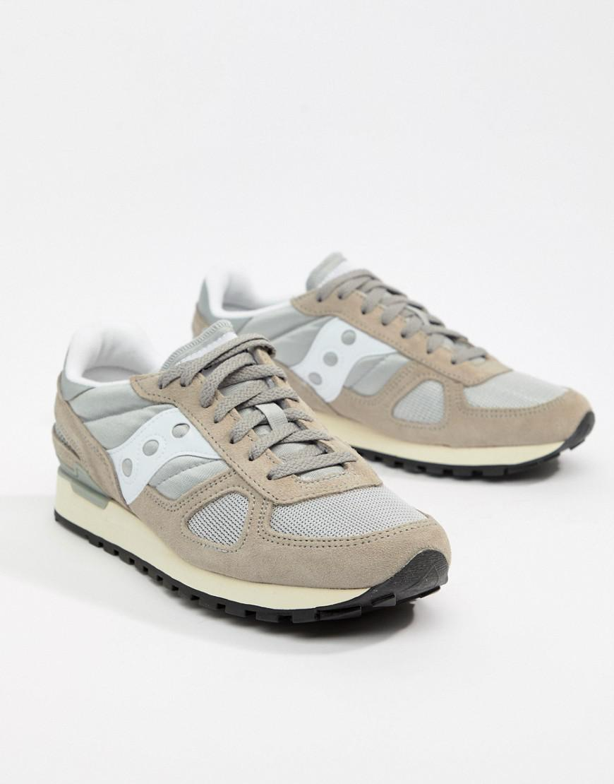 promo code 8d6aa c58e5 Saucony Shadow Original Trainers In Grey S70424-1 in Gray for Men - Lyst