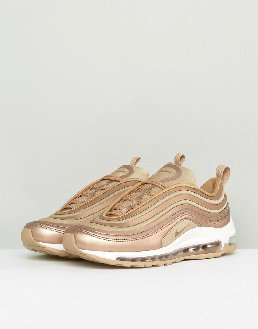187c64ddf2 Nike Air Max 97 Sneakers In Metallic Cashmere - Lyst