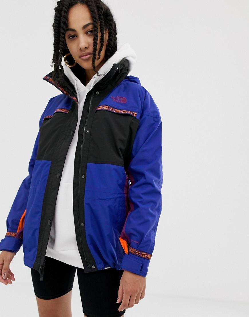 f0879b2d79 Lyst - The North Face 92 Retro Rage Rain Jacket In Aztec Combo in Blue