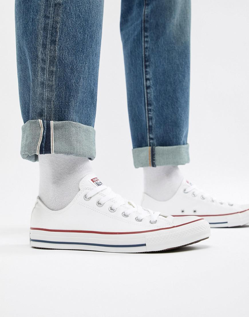 967ab0669f26ab Converse All Star Ox Plimsolls In White M7652 in White for Men - Lyst