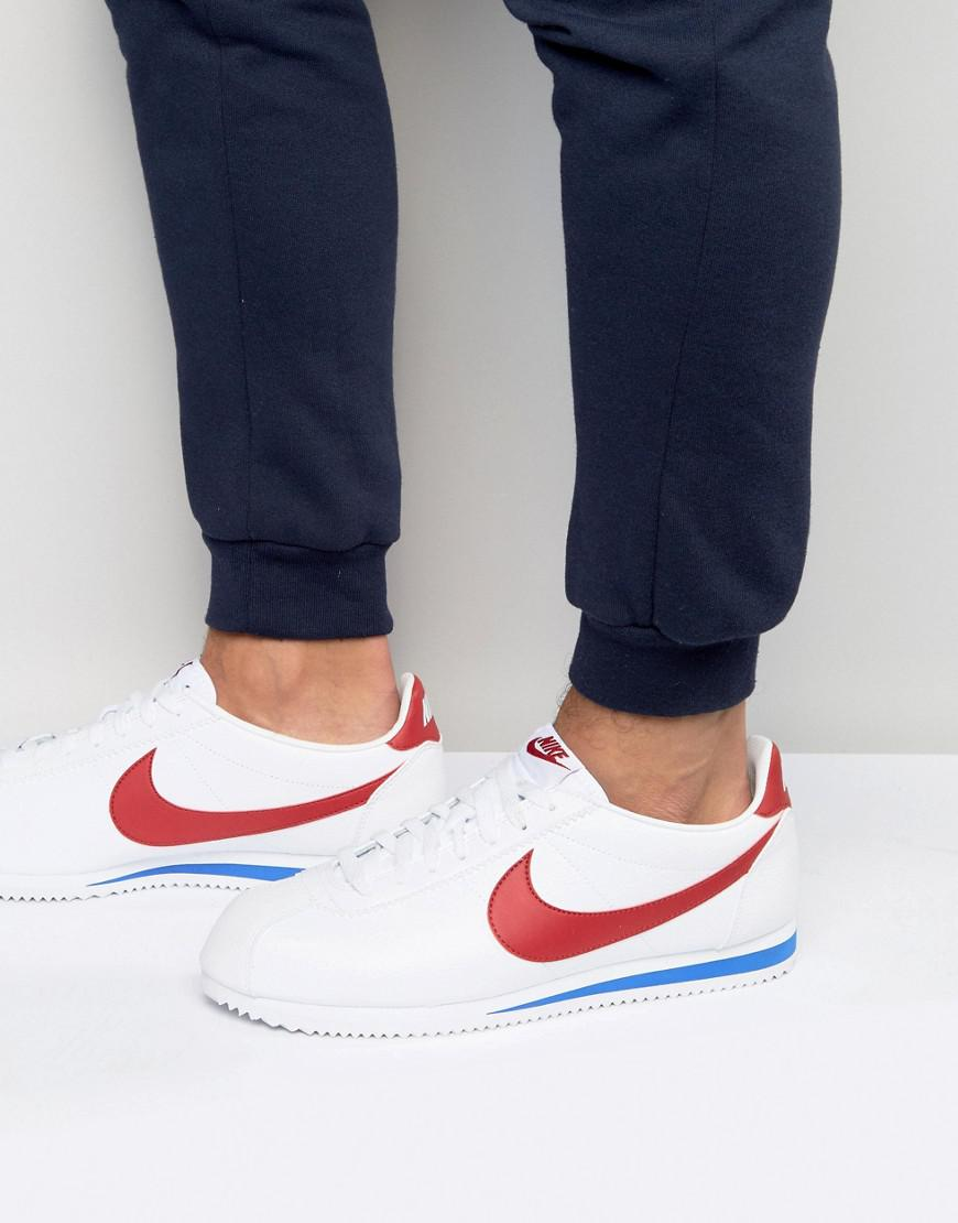 on sale 01888 201f7 Nike Cortez Sneakers In White in White for Men - Save 2% - Lyst