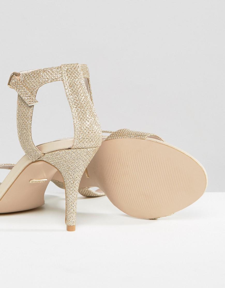 db59228f2bb5 Lyst - Carvela Kurt Geiger Kollude Mid Heeled Sandals in Metallic