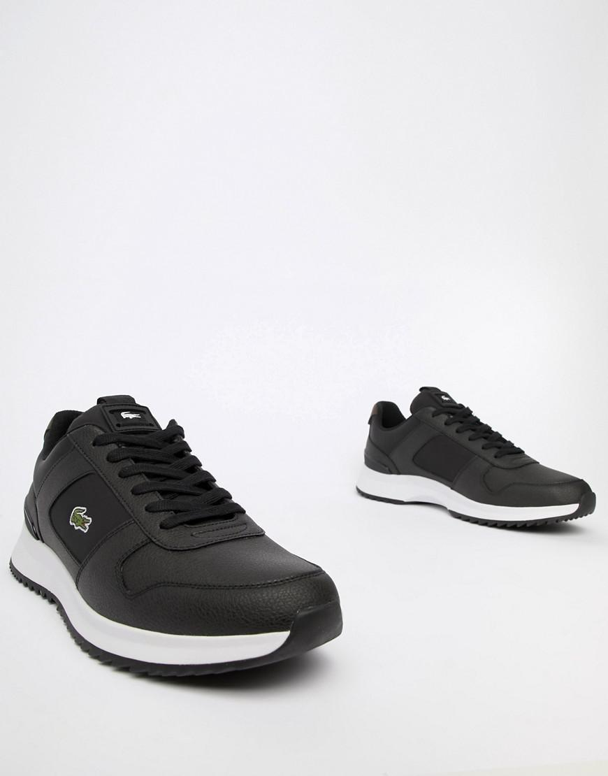 27ad98c9478e79 Lacoste Joggeur 2.0 318 1 Trainers In Black in Black for Men - Lyst