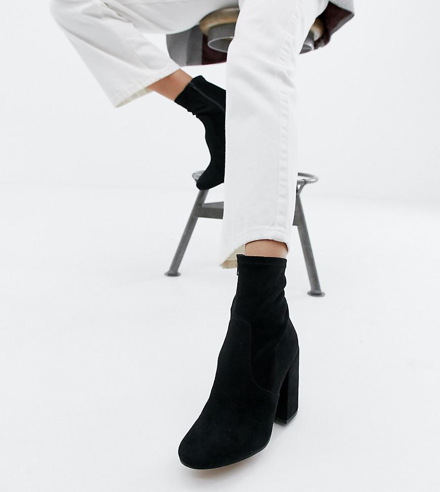 4bae0b57f09 Lyst - ASOS Eastern Sock Boots in Black