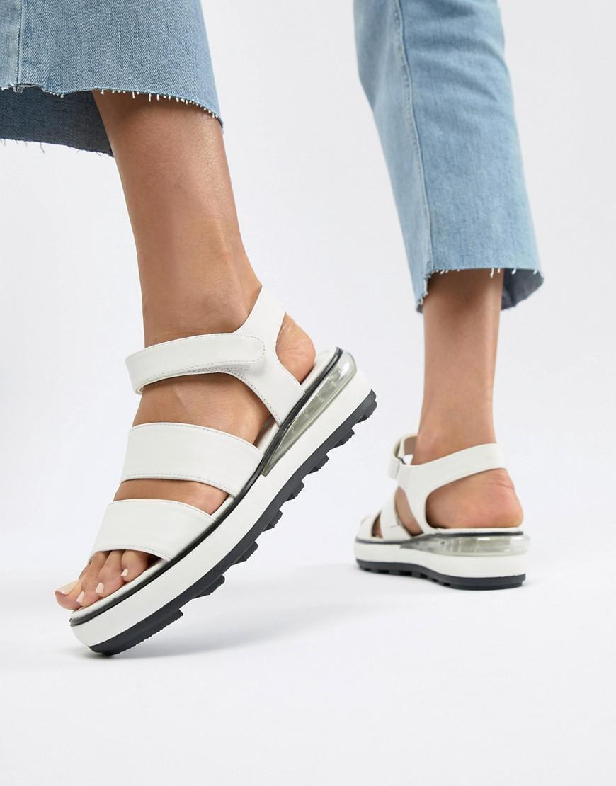Sixty Seven Flatform Heeled Sandals - White Sixtyseven puvNV97whn