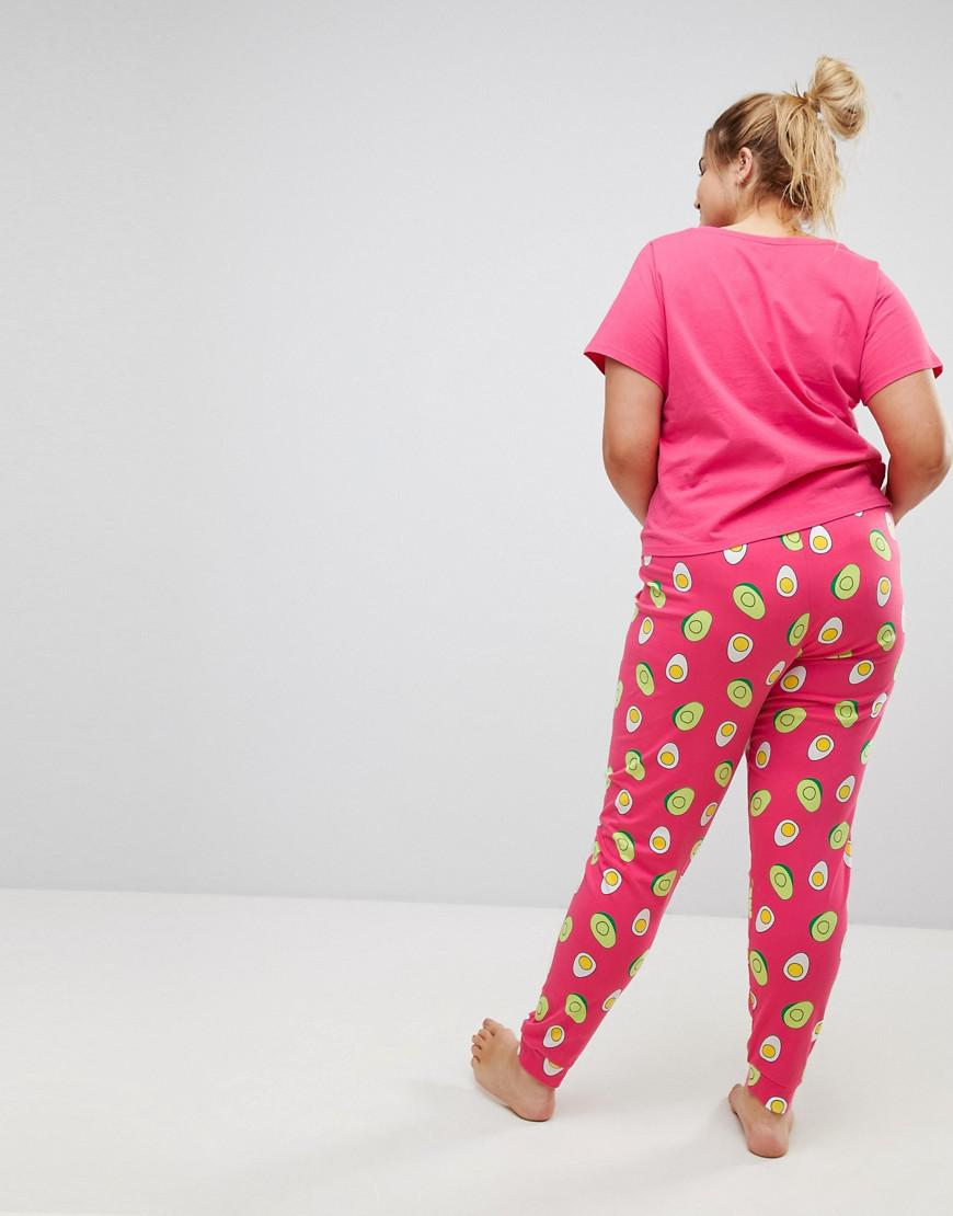 Love Heart Big Hands Legging Set - Multi Asos Curve New Styles Cheap Sale Affordable In China Cheap Price Great Deals Cheap Price AFjTYj