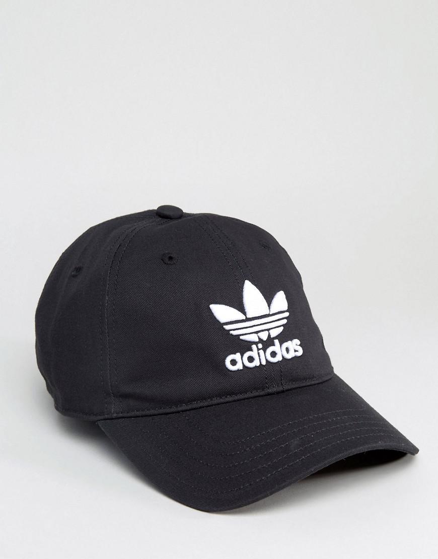 28 De Adidas Logo Coloris Casquette Noir En Lyst Originals 0 w0T5x